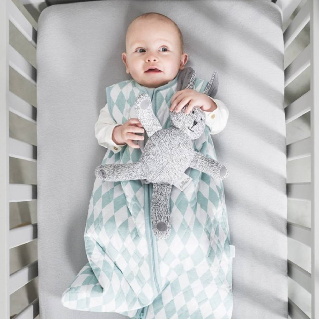 diamond check baby sleeping bag by indigo style ltd. Black Bedroom Furniture Sets. Home Design Ideas