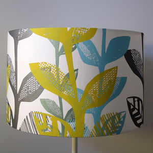 Floral Big Leaf Lampshade