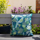 Palm Leaves Water Resistant Garden Outdoors Cushion