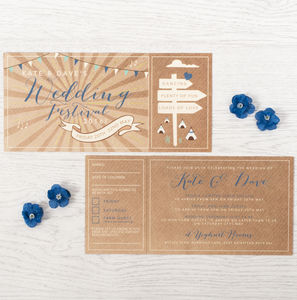 Farm Festival Wedding Invitation