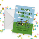 Cycling Birthday Card