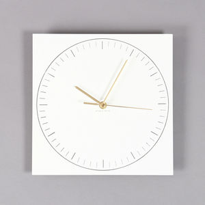 Letterpress Paper Clock - clocks