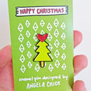 Christmas Tree Enamel Pin