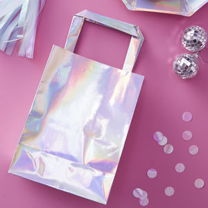 Rainbow Iridescent Party Bag