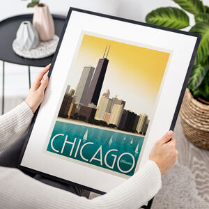 Chicago Travel Print