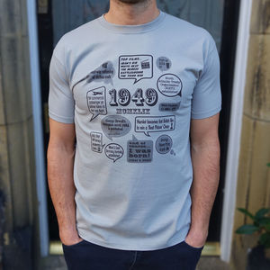 Events Of 1949 70th Birthday Gift T Shirt