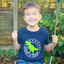 Personalised Dinosaur Kids T Shirt