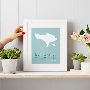 Personalised Wedding Print - 100 best wedding prints