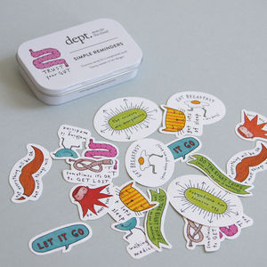 Simple Reminders Stickers - shop by recipient