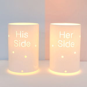 His Side And Her Side Table Lamps