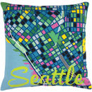 Seattle City Map Tapestry Kit