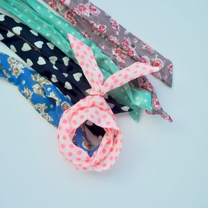 Cotton Wire Headband - womens