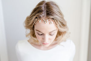 Angel Headdress - bridal hairpieces