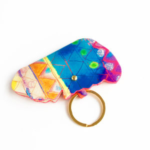 'Aquarelle Rainbow' Papillon Earbud Holder - summer sale