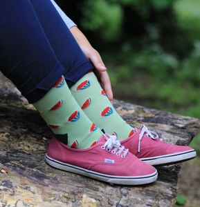 Unisex Watermelon Socks - underwear & socks