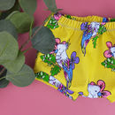 'Tropical Bird' Print Summer Baby And Toddler Shorts