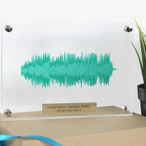 Crystal 'Any Song' 3D Floating Sound Wave