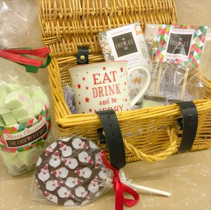 Christmas Chocolate Goodies Hamper