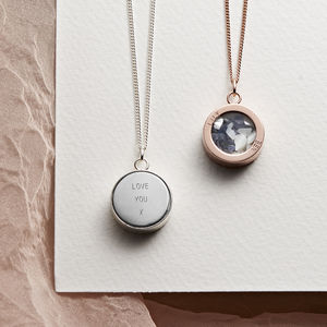 Personalised Mixed Birthstone Locket - for her