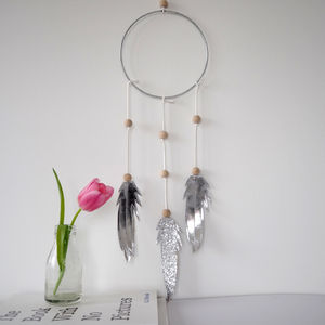Metallic And Glitter Dream Catcher - home accessories