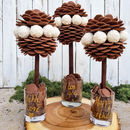 Chocolate Button And Raffaello Tree