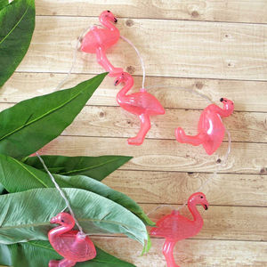 Battery Flamingo String Lights - fairy lights & string lights