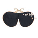 Holistic Silk Lavender Eye Mask Black