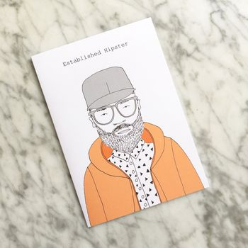 'Established Hipster' Card