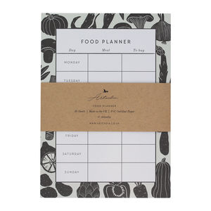 Weekly Food Meal Planner Notepad