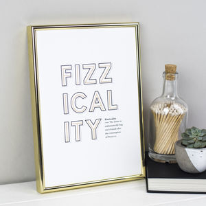 Witty Prosecco Definition Print