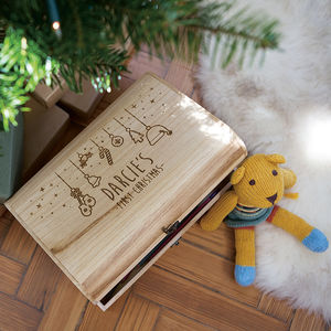 Personalised Baby's First Christmas Eve Box - kitschmas christmas