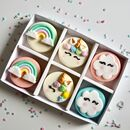 Unicorn And Rainbow Oreo Gift Box