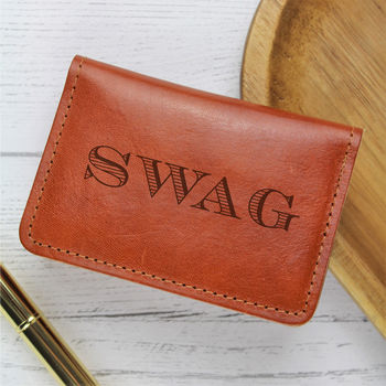 Tan 'Swag' Wallet