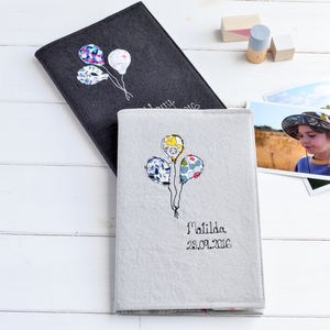 Personalised New Baby Memory Book - photo albums