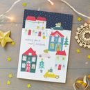 Christmas Town Scene Greeting Card Pack