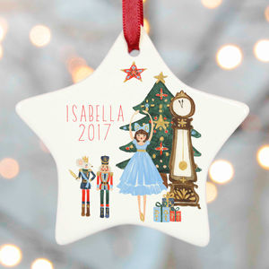 Nutcracker Christmas Decoration - keepsakes