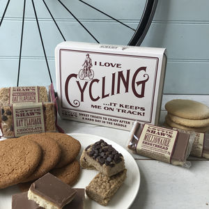 Cycling Tin Full Of Treats - biscuits and cookies