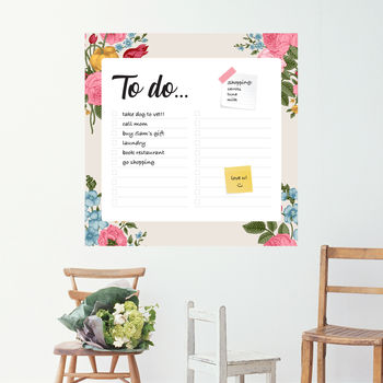 To Do Wall Whiteboard Wall Planner