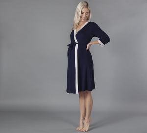 Vogue Maternity Dressing Gown - maternity