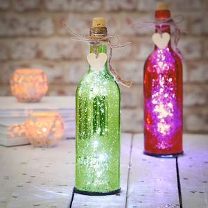 Sparkle Light Up LED Firefly Bottles