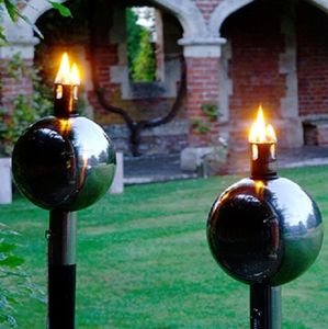 Salm Outdoor Garden Burner - lights & lanterns