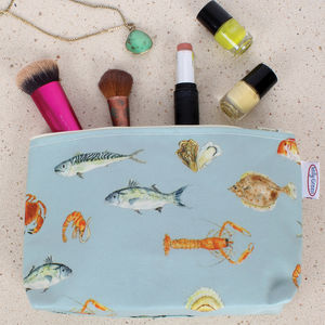 Fish Make Up Bag