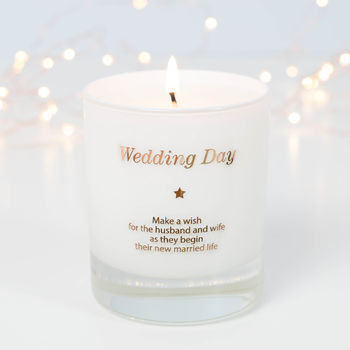 Make A Wish Wedding Day Candle