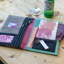 Personalised Paint Blob Travel Wallet