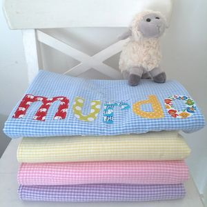Personalised Baby Blanket - sleeping