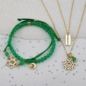 Selection Gold Chakra Jewellery Sets - sport-lover