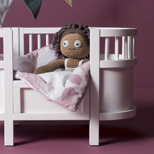 Wooden Dolls Classic Cot Bed - pretend play & dressing up
