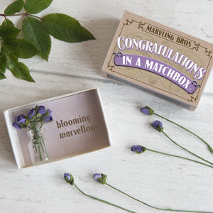 Congratulations Miniature Bouquet Of Paper Roses - view all new