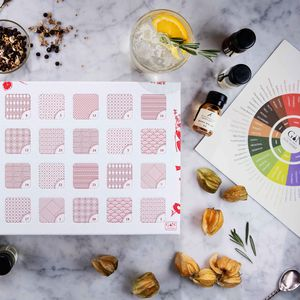 Gin Advent Calendar With Tasting Wheel And Guide - gin