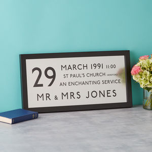 Silver Wedding Anniversary Personalised Bus Blind